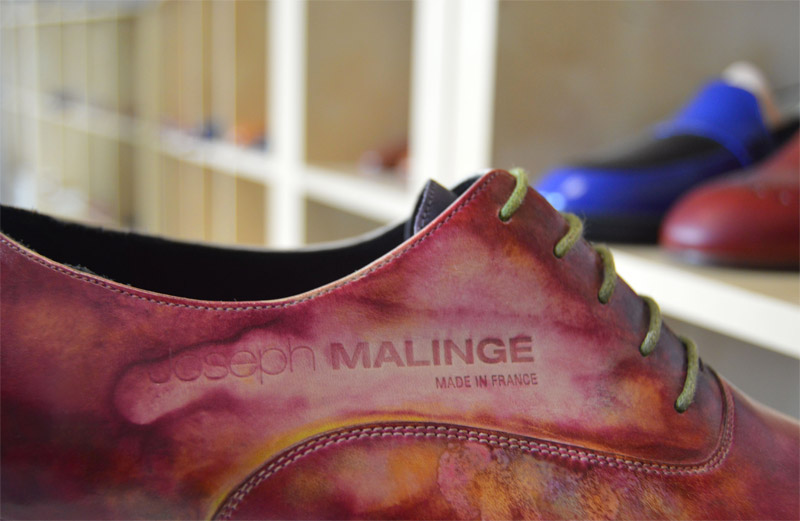 Luxury shoe of excellence for men 100% French manufacturing