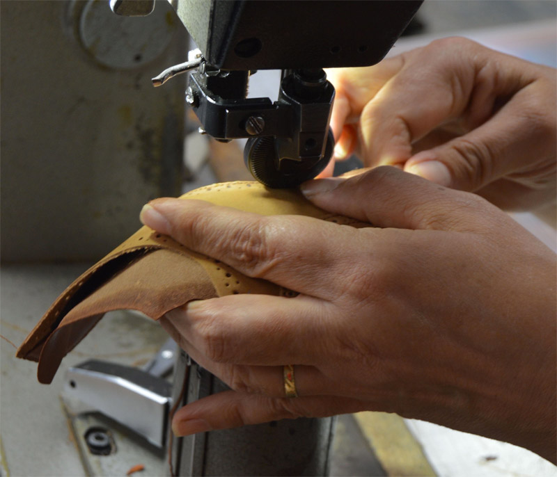 Assembling the pieces of luxury shoes Joseph Malinge