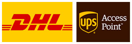 DHL et UPS Point relais